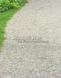 Садовая дорожка из гравия, щебня, гальки. Гравийный отсев - 106