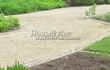 Садовая дорожка из гравия, щебня, гальки. Гравийный отсев - 107