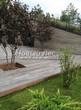 Деревянная садовая дорожка из досок (мостки из дерева) - 104