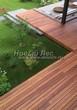 Деревянная садовая дорожка из досок (мостки из дерева) - 106