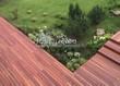 Деревянная садовая дорожка из досок (мостки из дерева) - 113