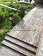 Деревянная садовая дорожка из досок (мостки из дерева) - 115