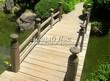 Деревянная садовая дорожка из досок (мостки из дерева) - 116