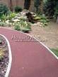 Резиновая садовая дорожка из резиновой крошки - 110