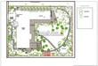 Ландшафтное проектирование участка (озеленение и благоустройство): генеральный план (генплан)