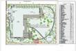 Ландшафтное проектирование участка (озеленение и благоустройство): разбивочно-посадочный план