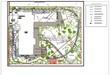 Ландшафтное проектирование участка (озеленение и благоустройство): схема полива (лист 2 - сиситема трубопроводов)