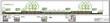 Ландшафтный дизайн участка в Новой Москве (бывшая Московская область): разрез 3-3 садовые дорожки из гранита и газон