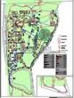 Ландшафтный проект участка парка у частного дома отдыха, дизайн, благоустройство и озеленение территории: схема освещения