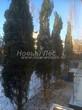 Проект озеленения территории возле загородного дома в Московской области (этап первый - посадка крупномеров сосны обыкновенной): посадка деревьев высотой 6-7 метров не быстрый процесс (уже вечереет)
