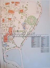 Ландшафтное проектирование: пример ландшафтного проекта озеленения и благоустройства территории частного дома отдыха