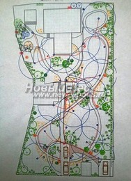 Ландшафтное проектирование: пример проекта ландшафтного дизайна для небольшого участка