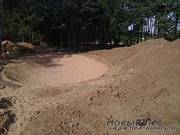 Водоемы - Строительство искусственных водоемов под ключ - Подготовка участка, земляные работы, котлован