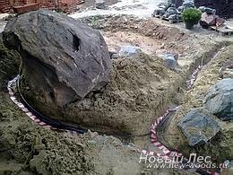 Водоемы - Строительство искусственных водоемов под ключ - За кулисами строительства водоема: монтаж кабелей и систем